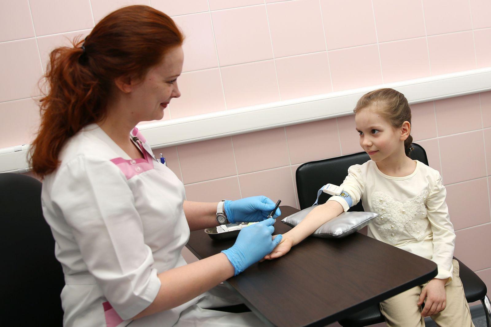 Гемоглобин в крови у ребенка