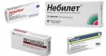Адреноблокаторы: список препаратов