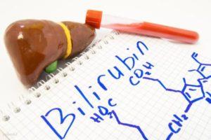 При каких состояниях повышается билирубин