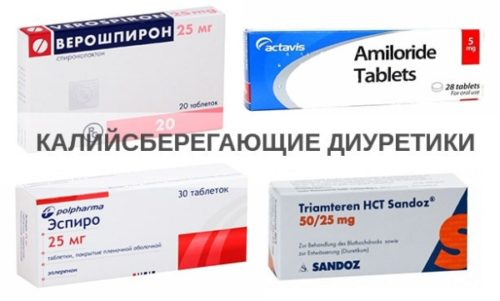 kalijsberegauschie diuretiki v tabletkah