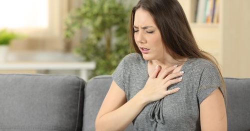 затрудненное дыхание при аритмии