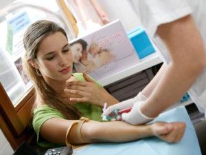 Анализ крови на беременность
