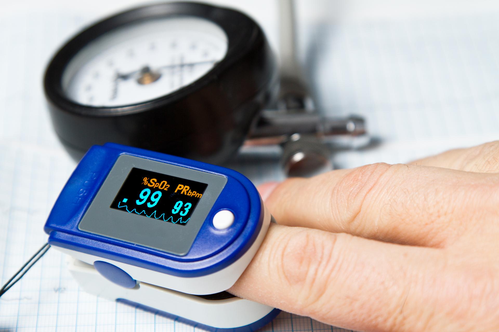 Измерение сатурации кислорода в крови